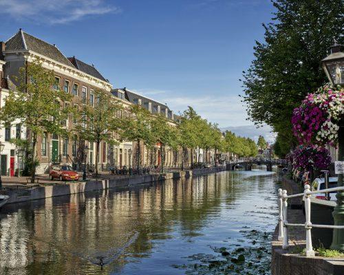 Leiden, canal